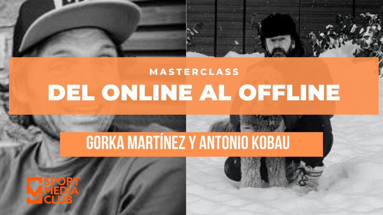 Gorka Martínez y Antonio Kobau